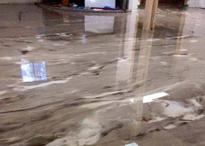 Office epoxy floor