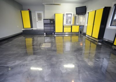 Garage epoxy floor