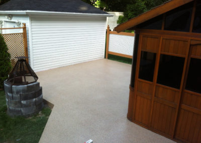 Exterior deck coating